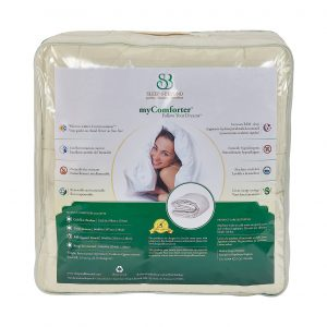 myComforter Packaging Back