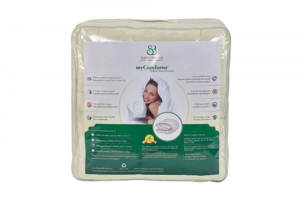 myComforter Packaging Back