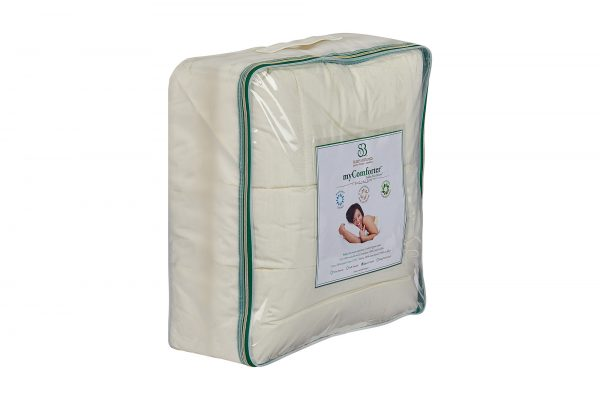 myComforter Packaging Side View
