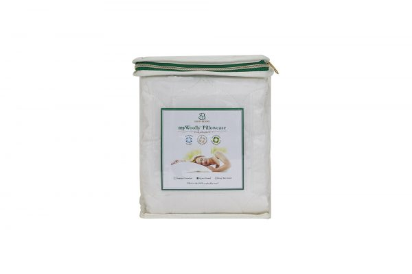 myWoolly Pillow Case Packaging Front