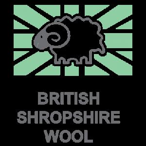 British Shropshire Wool