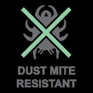 Dust Mite Resistant