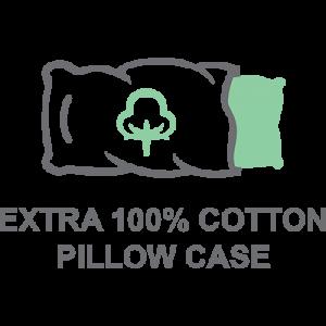 Extra Cotton Pillow Case