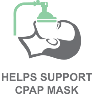 Helps Support CPAP Mask