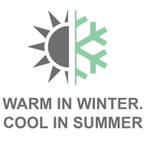 Warm In Winter & Cool in Summer